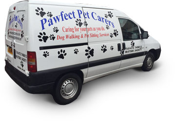 Pawfect Pet Carers Van