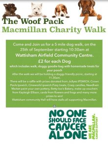 Macmillan Dog Walk